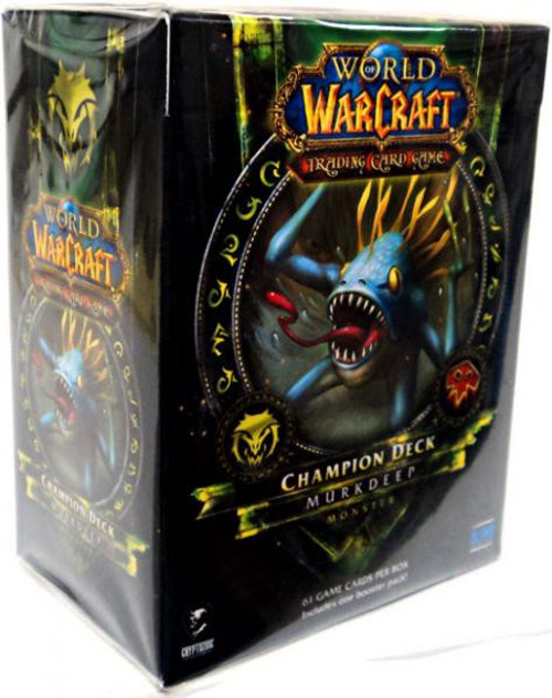 World of Warcraft Trading Card Game Murkdeep Champion Deck