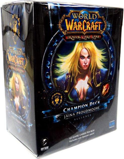 World of Warcraft Trading Card Game Jaina Proudmoore Champion Deck
