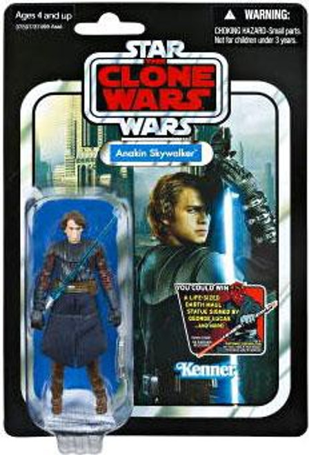 Star Wars The Clone Wars 2012 Vintage Collection Anakin Skywalker Action Figure #92
