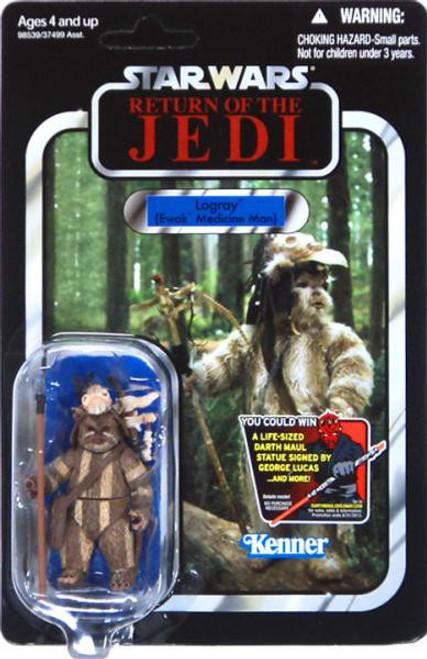 Star Wars Return of the Jedi 2012 Vintage Collection Logray Action Figure #53 [Ewok Medicine Man]
