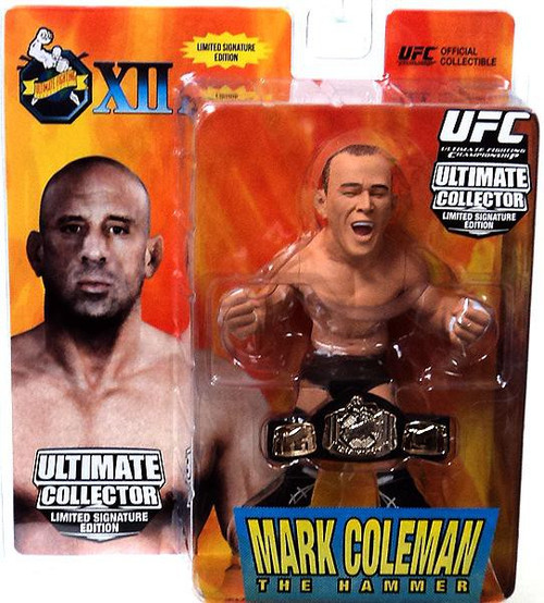 UFC Ultimate Collector Series 10 Mark Coleman Action Figure [Limited Signature Edition]