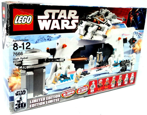 LEGO Star Wars The Empire Strikes Back Hoth Rebel Base Exclusive Set #7666 [Damaged Package]