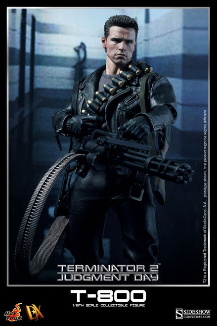 Terminator 2 Judgment Day T-800 Collectible Figure DX-10 [Deluxe Version]