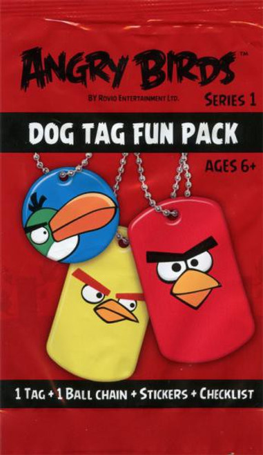 Angry Birds Series 1 Dog Tag Fun Pack