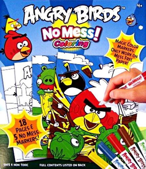 Angry Birds Cra-Z-Art No Mess Coloring Set
