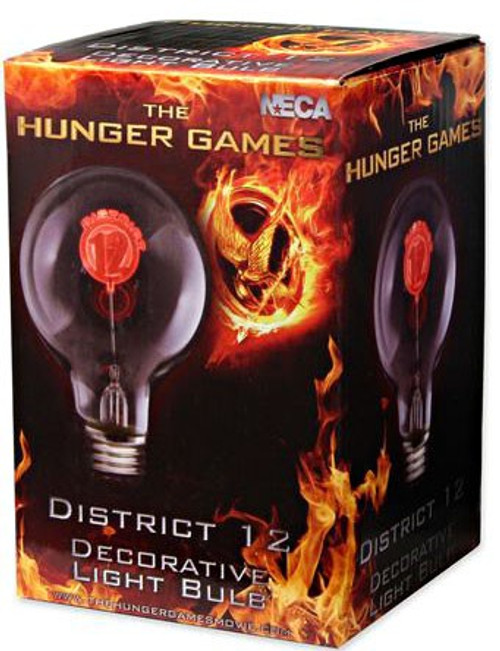 NECA The Hunger Games District 12 Incandescent Light Bulb