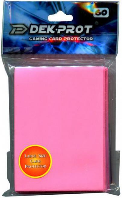 Card Supplies Gaming Card Protectors Coral Pink Standard Card Sleeves [60 Count]