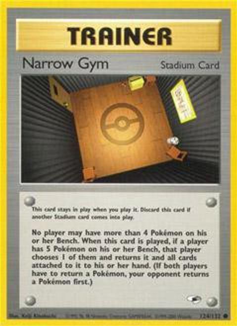 Pokemon Gym Heroes Common Narrow Gym #124