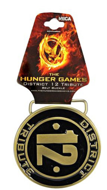NECA The Hunger Games District 12 Tribute Belt Buckle