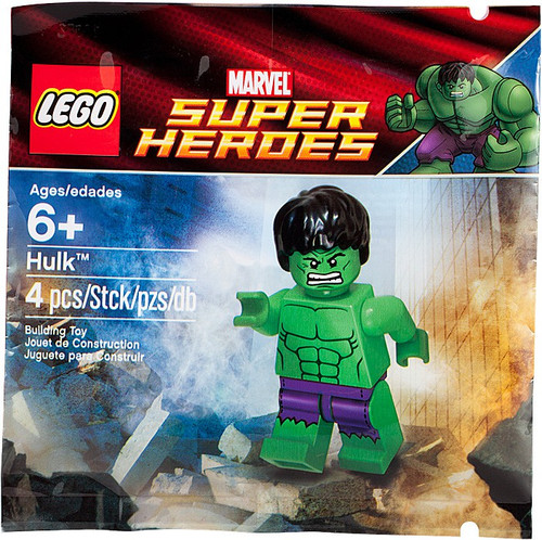 LEGO Marvel Super Heroes Hulk Exclusive Mini Set #6001095 [Bagged]