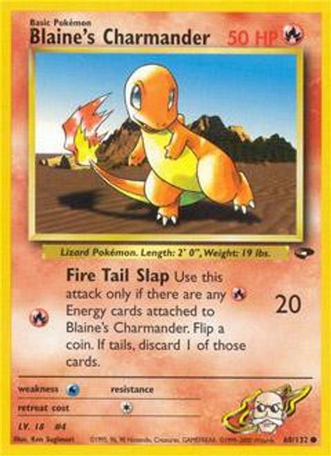 Pokemon Gym Challenge Common Blaine's Charmander #60
