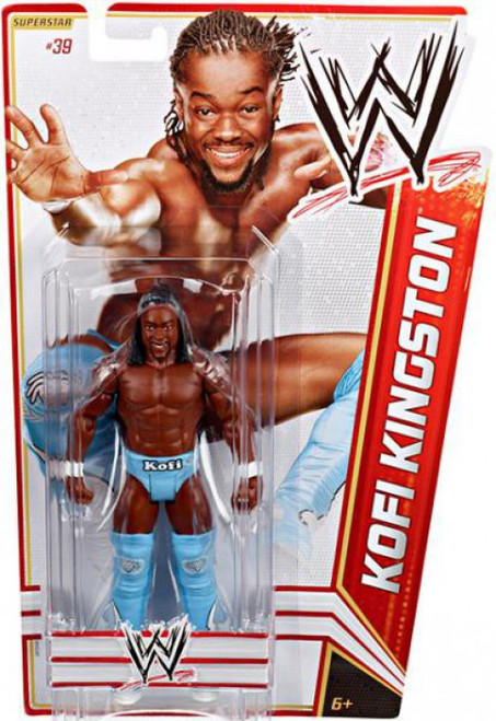 WWE Wrestling Series 19 Kofi Kingston Action Figure #39