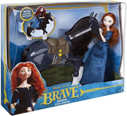 Disney / Pixar Brave Merida & Angus the Horse Doll Set