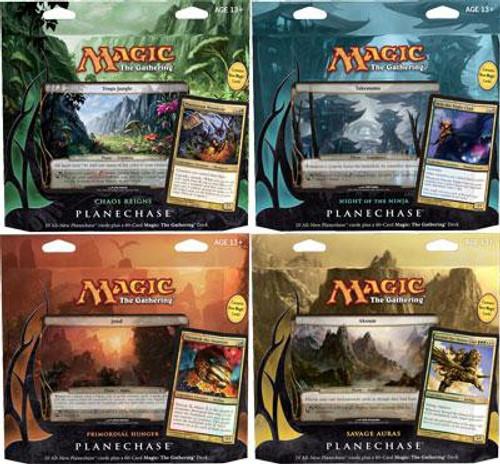 MtG Trading Card Game 2012 Core Set Set of 4 Planechase Decks