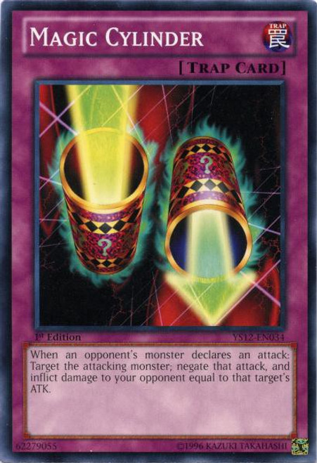 YuGiOh Trading Card Game 2012 Core Set Common Magic Cylinder YS12-EN034