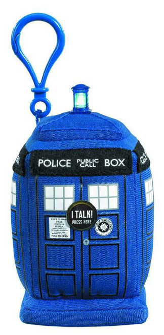 Doctor Who Tardis 4-Inch Plush Clip On