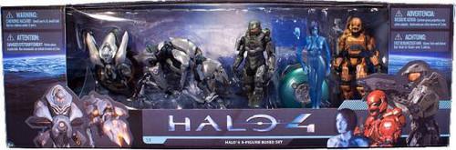 McFarlane Toys Halo 4 Series 1 Halo 4 5-Piece Boxed Set