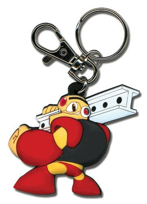 Mega Man 10 Powered Up Guts Man Keychain