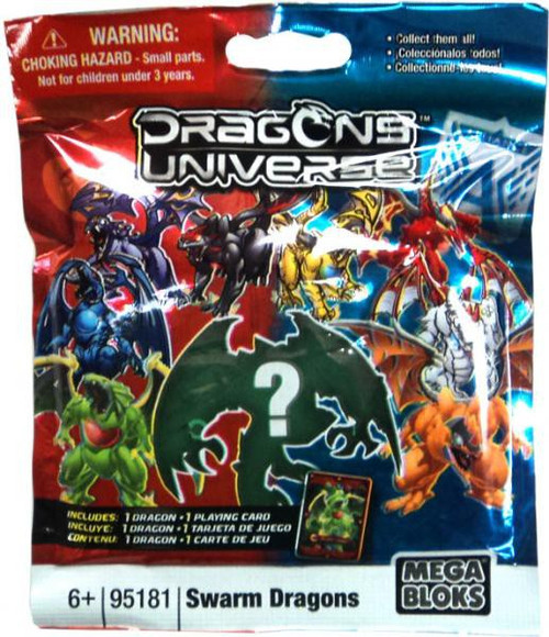Mega Bloks Dragons Universe Series 2 Swarm Dragons Minifigure Mystery Pack #95181
