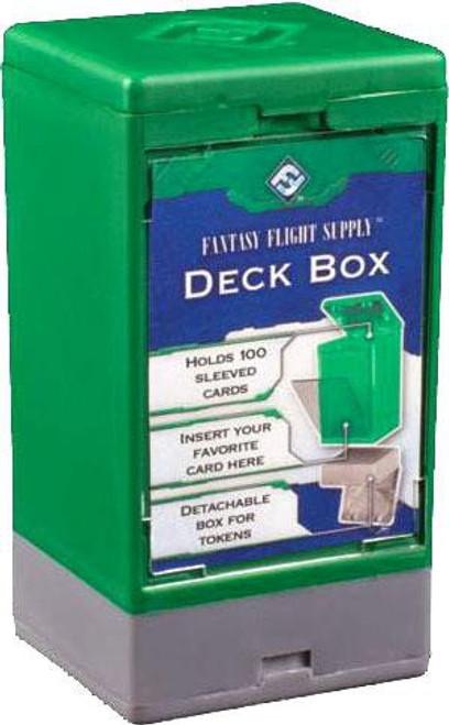 Card Supplies Green Deck Box