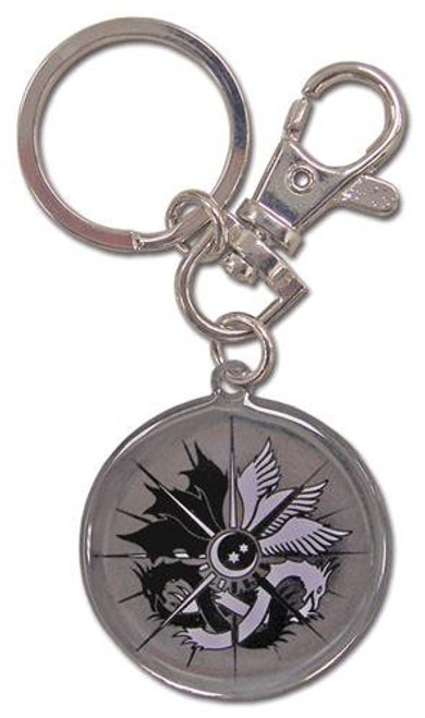 Castlevania Curse of Darkness Emblem Metal Keychain