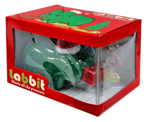 Labbit wants all the Presents Vinyl Figure [Green Flocked]