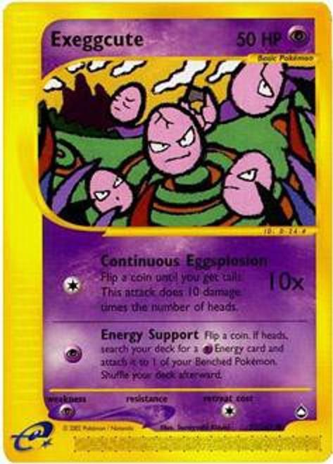 Pokemon Aquapolis Common Exeggcute #77