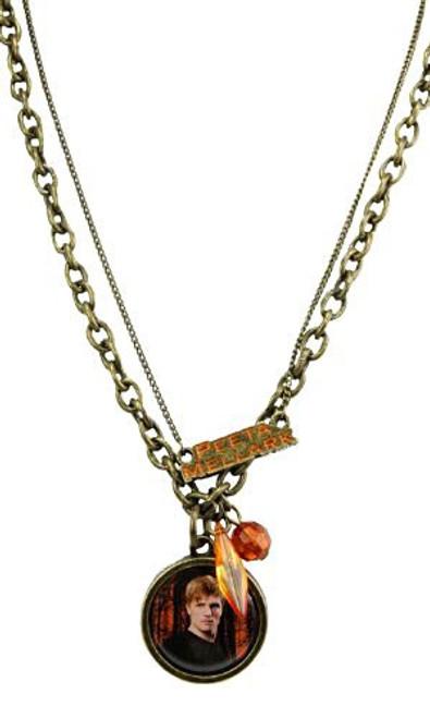 NECA The Hunger Games Peta Mallark Double Chain Necklace