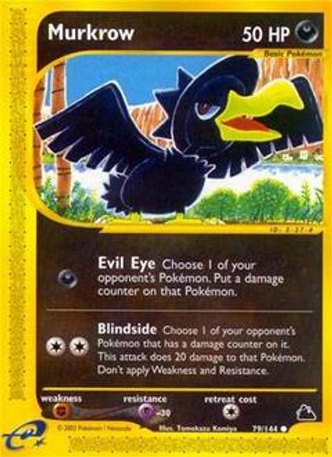 Pokemon Skyridge Common Murkrow #79