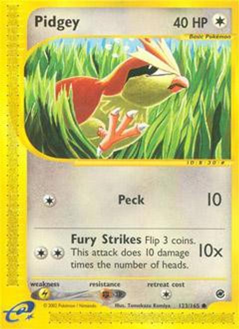 Pokemon Expedition Base Set Common Pidgey #123