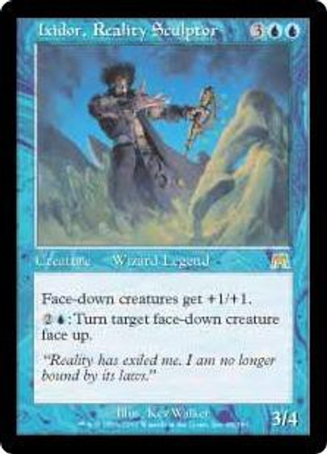 MtG Onslaught Rare Ixidor, Reality Sculptor #89