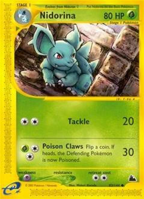 Pokemon Skyridge Common Nidorina #83