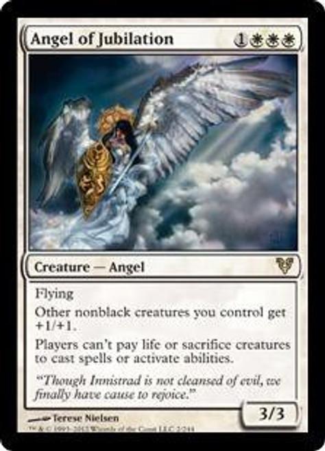 MtG Avacyn Restored Rare Angel of Jubilation #2