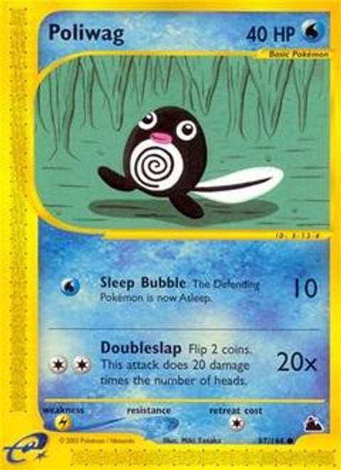 Pokemon Skyridge Common Poliwag #87