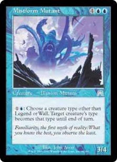 MtG Onslaught Uncommon Mistform Mutant #95