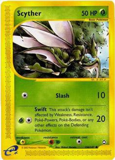 Pokemon Aquapolis Common Scyther #106