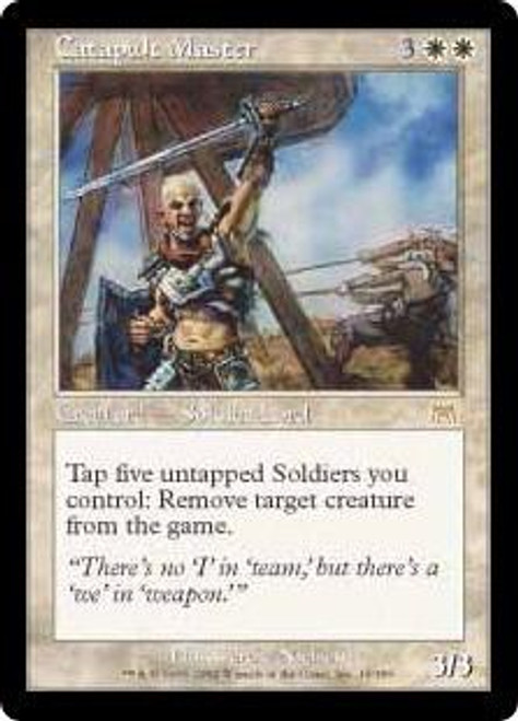 MtG Onslaught Rare Catapult Master #10