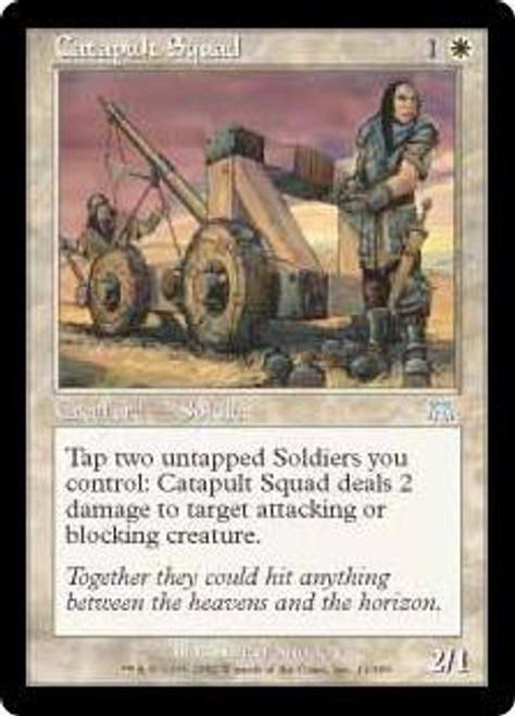 MtG Onslaught Uncommon Catapult Squad #11