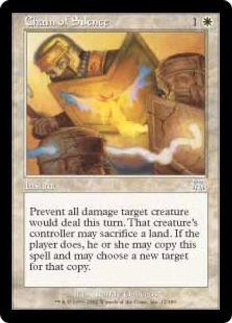 MtG Onslaught Uncommon Chain of Silence #12