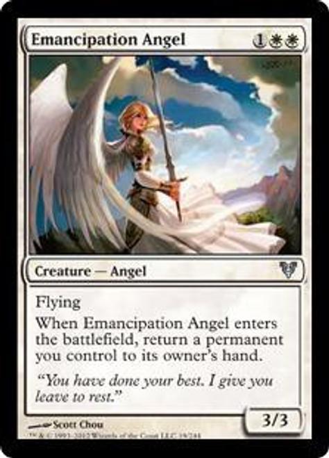 MtG Avacyn Restored Uncommon Emancipation Angel #19