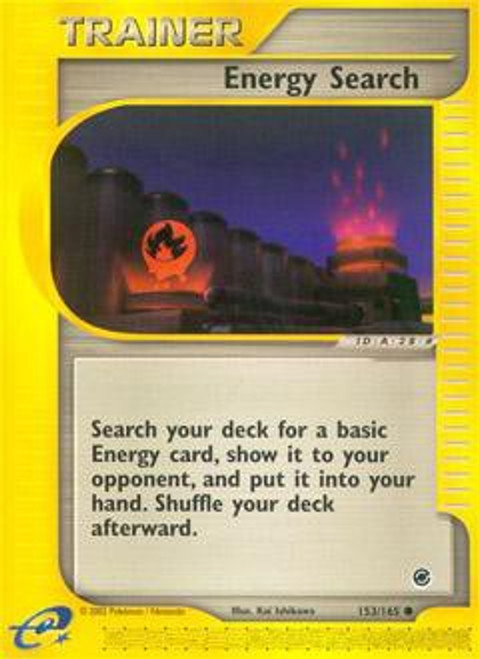 Pokemon Expedition Base Set Common Energy Search #153