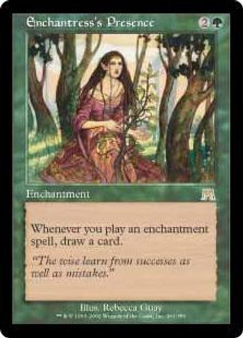 MtG Onslaught Rare Enchantress's Presence #261
