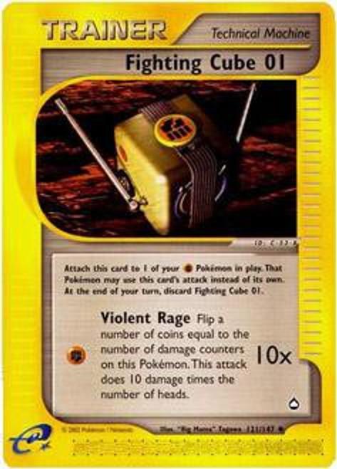 Pokemon Aquapolis Uncommon Fighting Cube 01 #121