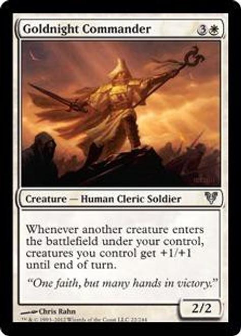 MtG Avacyn Restored Uncommon Goldnight Commander #22