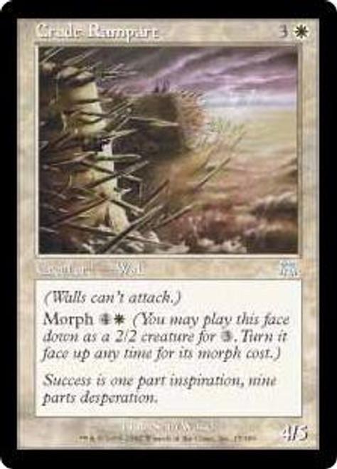 MtG Onslaught Uncommon Crude Rampart #17