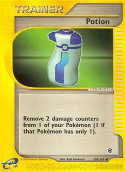 Pokemon Expedition Base Set Common Potion #156