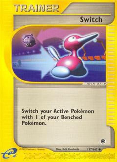 Pokemon Expedition Base Set Common Switch #157