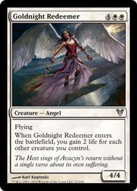 MtG Avacyn Restored Uncommon Goldnight Redeemer #23