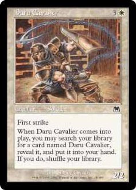MtG Onslaught Common Daru Cavalier #18