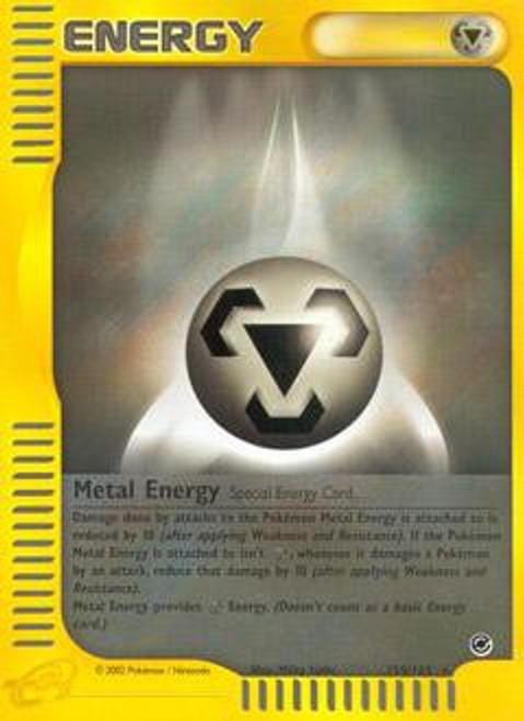 Pokemon Expedition Base Set Rare Metal Energy #159